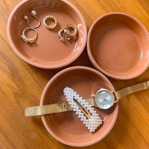 🛍3/30 Vintage Terra Cotta Dishes
